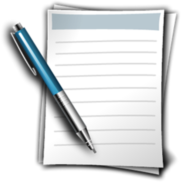 Write Document | Free Images at Clker.com - vector clip ...