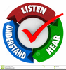 Listen To Reading Clipart Image