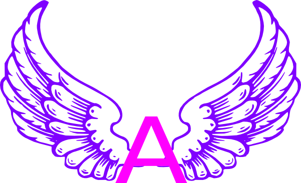 Eagle Wings With Letter A Clip Art at Clker vector clip art