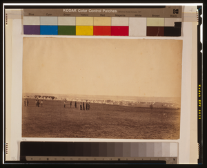 Camp Of The 3rd Division, French Tents In The Distance Image