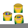 Box Of Crayons Clipart Image
