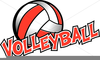 Free Clipart Flaming Volleyball Image