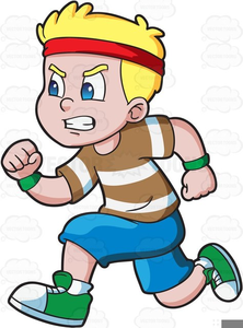 Toddler Running Clipart Free Images At Clker Com Vector Clip Art