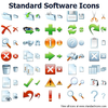 Standard Software Icons Image