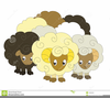 Clipart Shepherd And Sheep Image