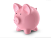 Pink Piggy Bank Clipart Image