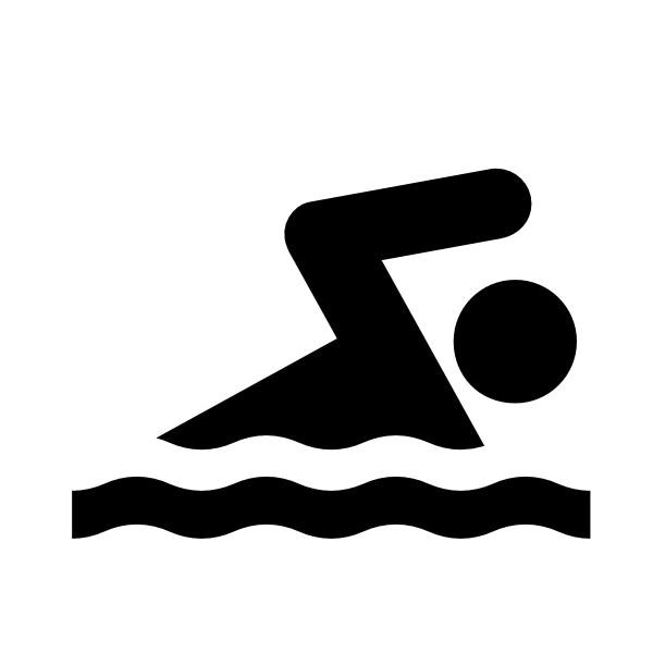 Swimmer White Clip Art at Clker.com - vector clip art ...
