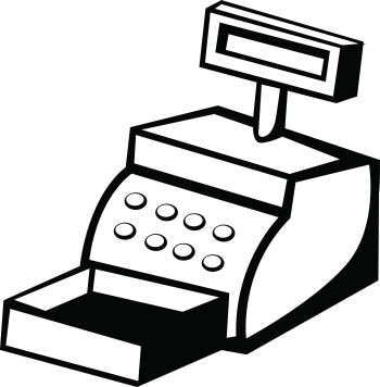Cash Register | Free Images at Clker.com - vector clip art ...