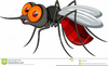 Free Clipart Silly Mosquitos Image