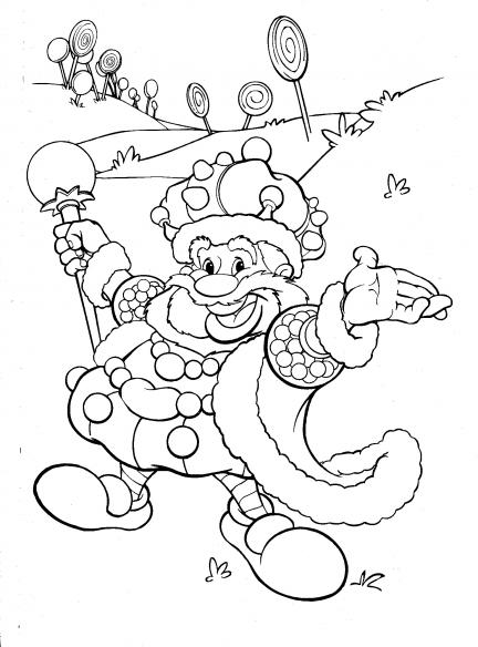 candy land characters coloring pages - photo#5