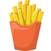 French Fries Clipart Image