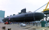 The Navy S Newest And Most Advanced Submarine, Pre-commissioning Unit (pcu) Virginia (ssn 774) Moved Out Doors For The First Time In Preparation For Her Aug. 16 Christening 3 Image