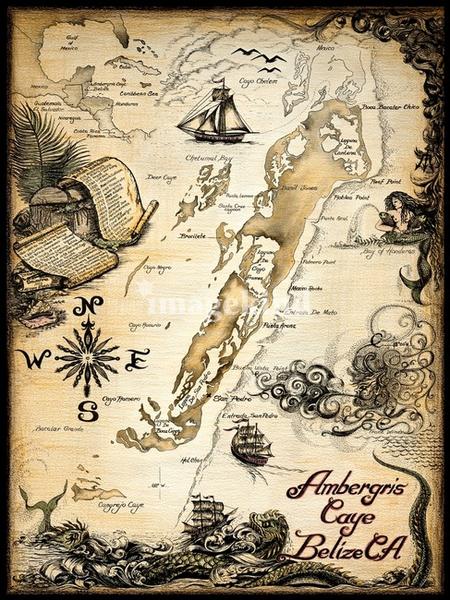 Vintage Map | Free Images at Clker.com - vector clip art