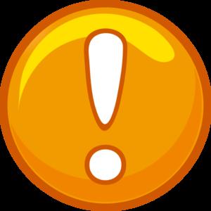 Alert Icon Yellow Clip Art