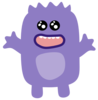 Purple Monster Clip Art