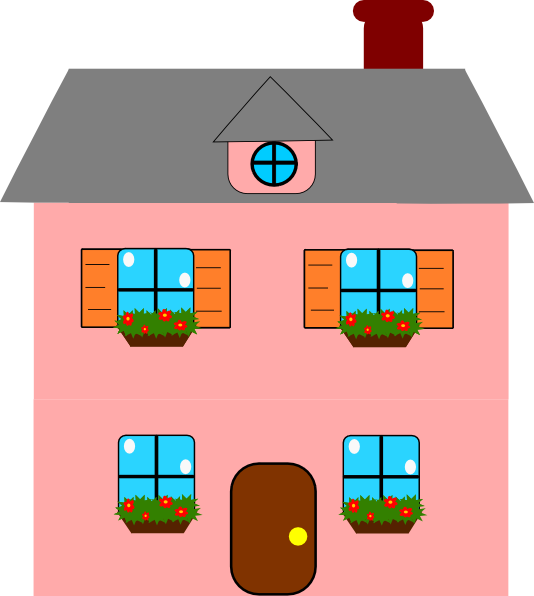 Image Result For Animated House Outline