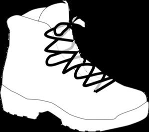 White Boot Clip Art At Clker Com Vector Clip Art Online