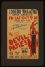 The Devil Passes  Federal Road Show Attraction : Direct From Sensational Los Angeles Run. Clip Art