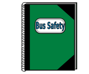 Bus Safety Notebook Clip Art