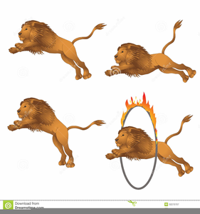 Free Cartoon Lion Clipart Image