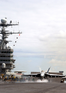 Aboard Uss Abraham Lincoln Image