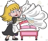 Make Bed Clipart Image