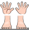Keep Your Hands And Feet To Yourself Clipart Image