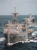 Amphibious Operations At Sea Image