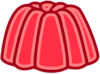 Red Juicy Jelly Clip Art