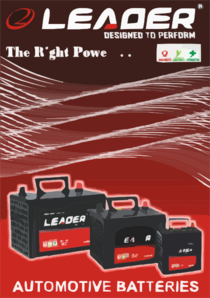 Power Batteries Flyer Clip Art