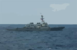 Uss John Mccain (ddg 56) Participates In Exercise Keen Sword 2003 Off The Coast Of Southern Japan. Clip Art