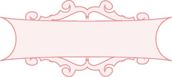 Pink Border Banner Clip Art at Clker.com - vector clip art ...
