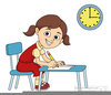 Free Clipart Student Sitting At Desk Image