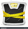 Bathroom Scales Clipart Image
