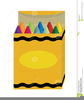 Free Clipart Box Of Crayons Image