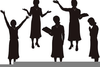 Clipart Woman Preaching Image