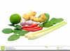 Asia Food Clipart Image