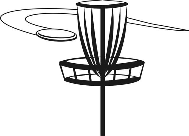 disc golf free images at clker com vector clip art Frisbee Clip Art Black and White ultimate frisbee clipart