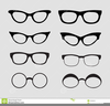 Free Vector Eyeglass Clipart Image