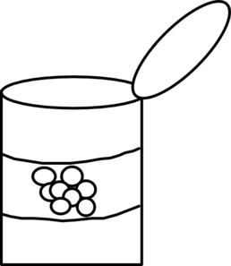 Tin Can Clip Art at Clker.com - vector clip art online ...
