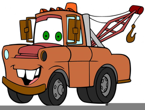 Tow Truck Free Clipart Image