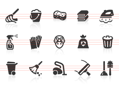 0029 Cleaning Icons | Free Images at Clker.com - vector clip art ...