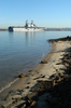 The Amphibious Assault Ship Uss Peleliu (lha 5) Transits San Diego Bay As She Returns From A Deployment In Support Of Operation Iraqi Freedom (oif). Image