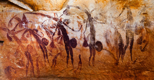 Aboriginal Cave Paintings Image