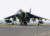 An Av-8 Harrier Taxis To The Ready Position Prior To Launching From The Flight Deck Of The Uss Bataan (lhd 5) In Support Of Operation Iraqi Freedom Clip Art