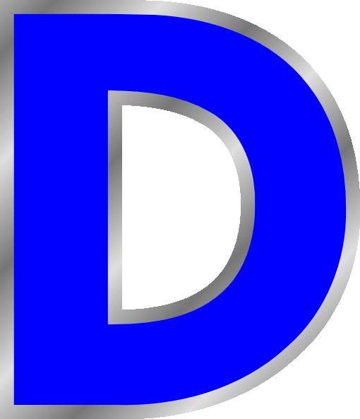 Letter D Clip Art At Clker Com