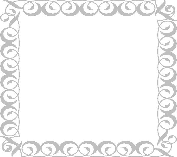 Light Gray Border 3 Clip Art At Clker Com Vector Clip