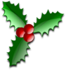Christmas Leaves Clip Art