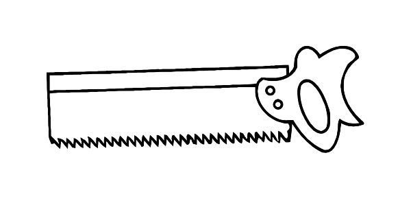 Saw Clip Art at Clker.com - vector clip art online ...