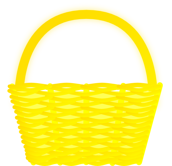 Yellow Basket Clip Art At Clker Com Vector Clip Art